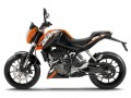Ktm-Duke-125 moto rent gran Canaria